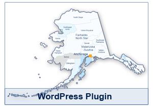 Interactive Map of Alaska - WordPress Plugin