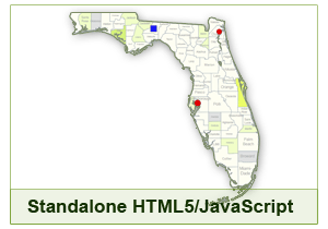 Interactive Map Of Florida.Interactive Map Of Florida By Clickmaps Codecanyon