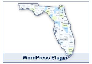 Interactive Map of Florida - WordPress Plugin