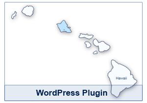 Interactive Map of Hawaii - WordPress Plugin