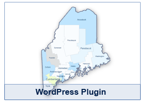 Interactive Map of Maine - WordPress Plugin