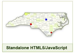 Interactive Map of North Carolina