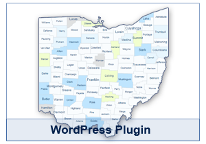 Interactive Map of Ohio - WordPress Plugin