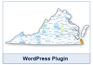 Interactive Map of Virginia - WordPress Plugin