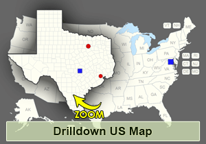 Interactive US Drilldown Map