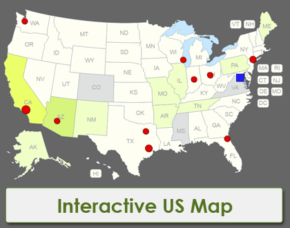 Interactive Maps of the World [JavaScript Templates]