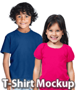 Kids T-Shirt Mockup
