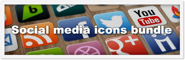 PNG Social Media Icons Pack