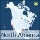 Interactive North America - Detailed Map