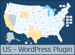 Interactive US Map - WordPress Plugin