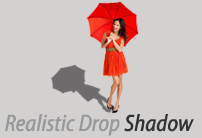 Realistic drod shadow