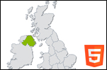 interactive html5 uk map