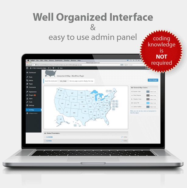 Download Interactive US Map - WordPress Plugin Nulled ...