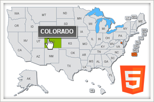 interactive html5 us map